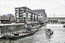 Kranhäuser zu Köln von leddermann