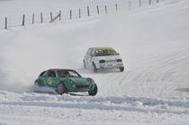 VW Golf III und Smart Coupe beim Eisrennen by Mark Gassner
