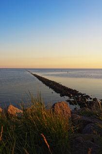 Abendstimmung am Strand von AD DESIGN Photo + PhotoArt