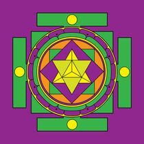 Merkaba-mandala-green