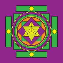 Merkaba Mandala von Galactic Mantra