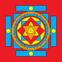Merkaba Mandala by Galactic Mantra