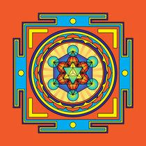Metatron's Cube Mandala von Galactic Mantra