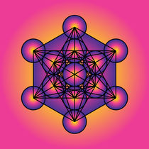 Metatron's Cube by Galactic Mantra