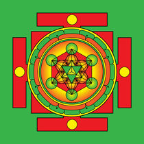 Metatrons-cube-with-merkaba-mandala-red