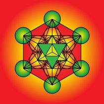 Metatron's Cube Merkaba von Galactic Mantra