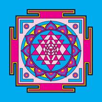 Sri Yantra Mandala by Galactic Mantra