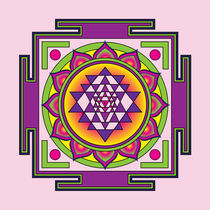 Sri Yantra Mandala von Galactic Mantra