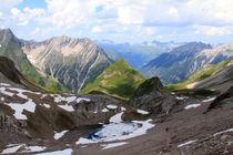 Lechtaler Alpen I by Gerhard Albicker