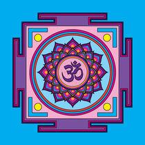Om-mandala-violet