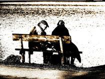 Picknick am See von Heidrun Carola Herrmann
