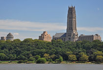 Riverside Church + General Grant Memorial, New York City by Mark Gassner