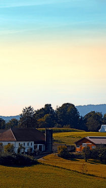 Gegend mit Bauernhof | Landschaftsfotografie by Patrick Jobst