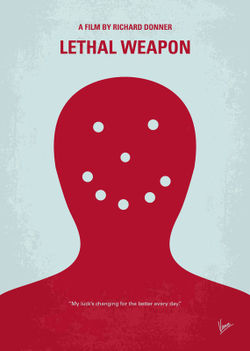 No327-my-lethal-weapon-minimal-movie-poster