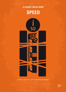No330 My SPEED minimal movie poster by chungkong