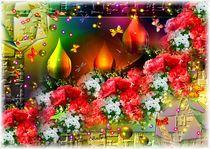 Auf Rosen gebettet von Eva Borowski