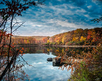Fall Colors in Harriman State Park von Jim DeLillo