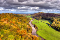 Autumn view from Yat Rock by Steve H Clark Photography