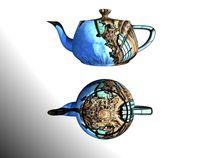 the dresden teapot I von Frank Voß
