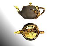 the dresden teapot II von Frank Voß