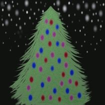 Christmas Tree In The Night by Michelle Brenmark