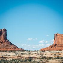 Twin Rocks in Utah von Felix Pütsch