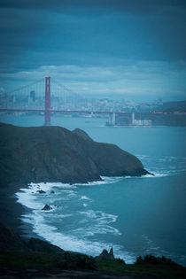 Golden Gate Bridge at Dusk von Felix Pütsch
