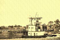 Antiqued Tugboat von Dan Richards