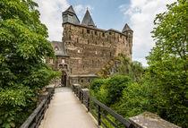 Burg Stahleck-Eingang by Erhard Hess