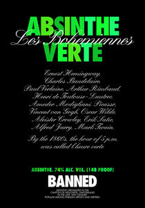 ABSINTHE VERTE by THE USUAL DESIGNERS