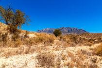 Mountain near Jijona - Alicante -Spain von Jörg Sobottka