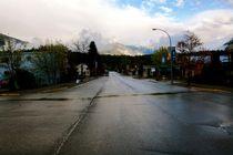Regen versus Truck von Ronald Klötzer