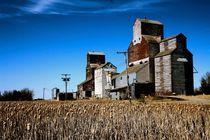 Getreidespeicher im Norden von Kanada von Ronald Klötzer