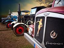 Oldtimer Trecker Lastwagen von Peter Roder