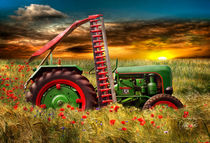 Holder Oldtimer Trecker Traktor by Peter Roder