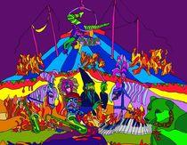 Der grüne Bär oder der Zirkus brennt by SUSANNE eva maria  FISCHBACH