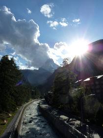 Matterhornblick von Franziska Rullert