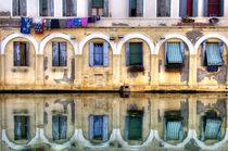 Spiegelung in Chioggia, Venetien von Klaus Rünagel
