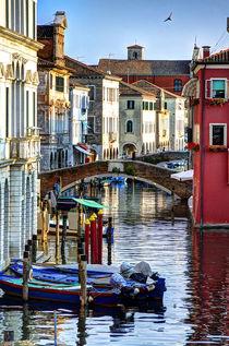 Canale della Vena in Chioggia, Venetien von Klaus Rünagel