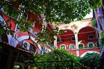 Innenhof des Großen Basars in Istanbul by loewenherz-artwork