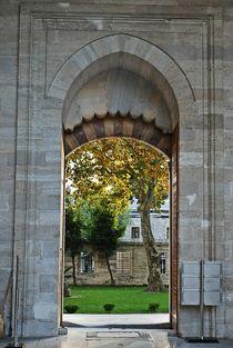 Suleymaniye-Moschee in Istanbul von loewenherz-artwork