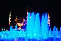 Blaue Moschee in Istanbul by loewenherz-artwork