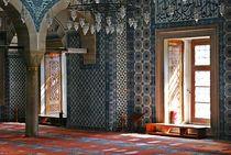 Blaue Moschee in Istanbul von loewenherz-artwork