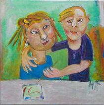 brother and sister by Annelies van Biesbergen