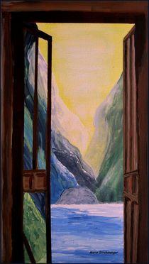 Fenster zum Licht by Marie Luise Strohmenger