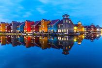 Holland Bunte Häuser I von elbvue by elbvue
