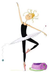 Ballett feminina von Monika Blank-Terporten