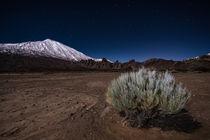 Teide at night by Raico Rosenberg