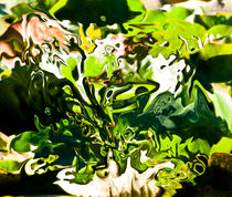 green abstract fantasy by bruno paolo benedetti