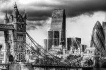 Tower Bridge and the City by David Pyatt